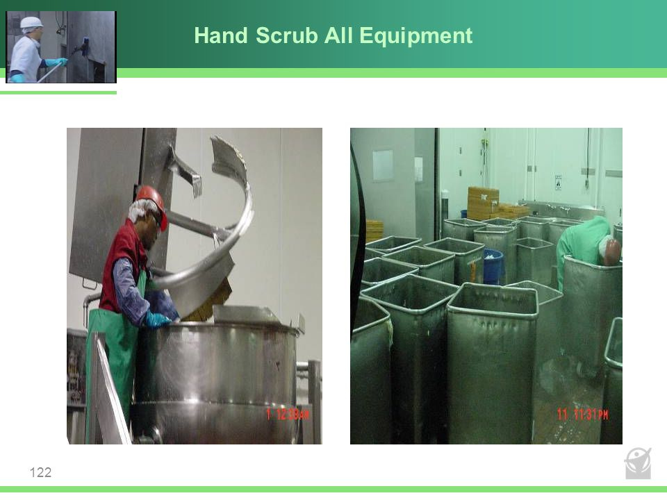 Hand Scrub All Equipment