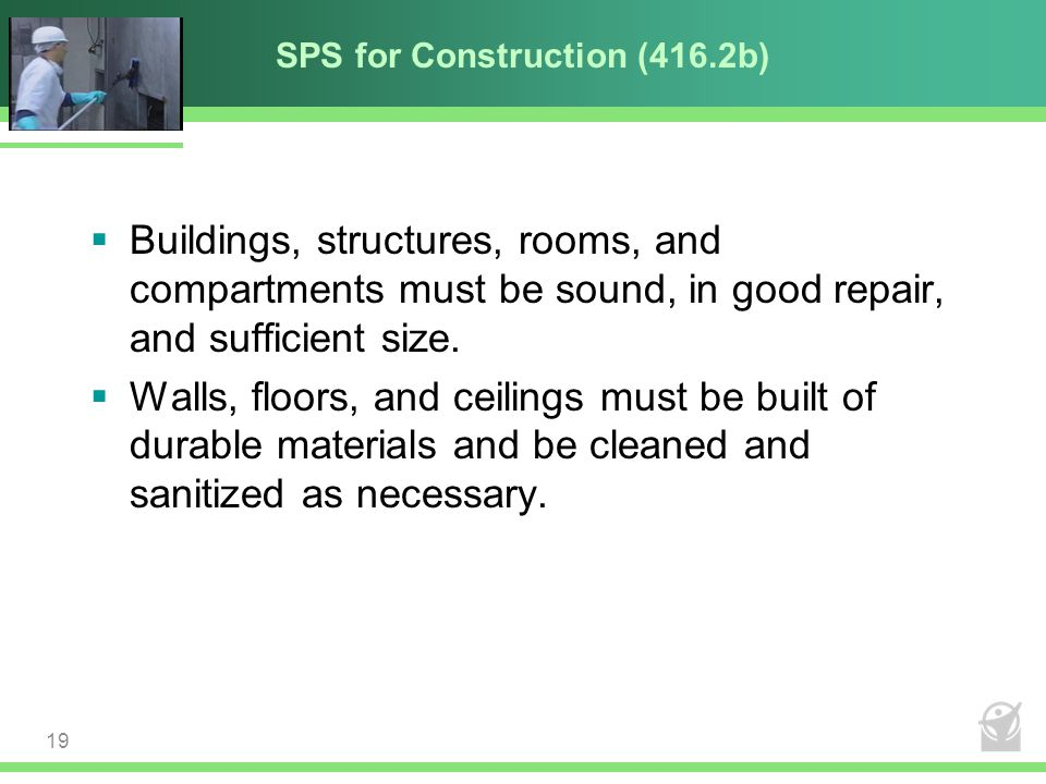 SPS for Construction (416.2b)