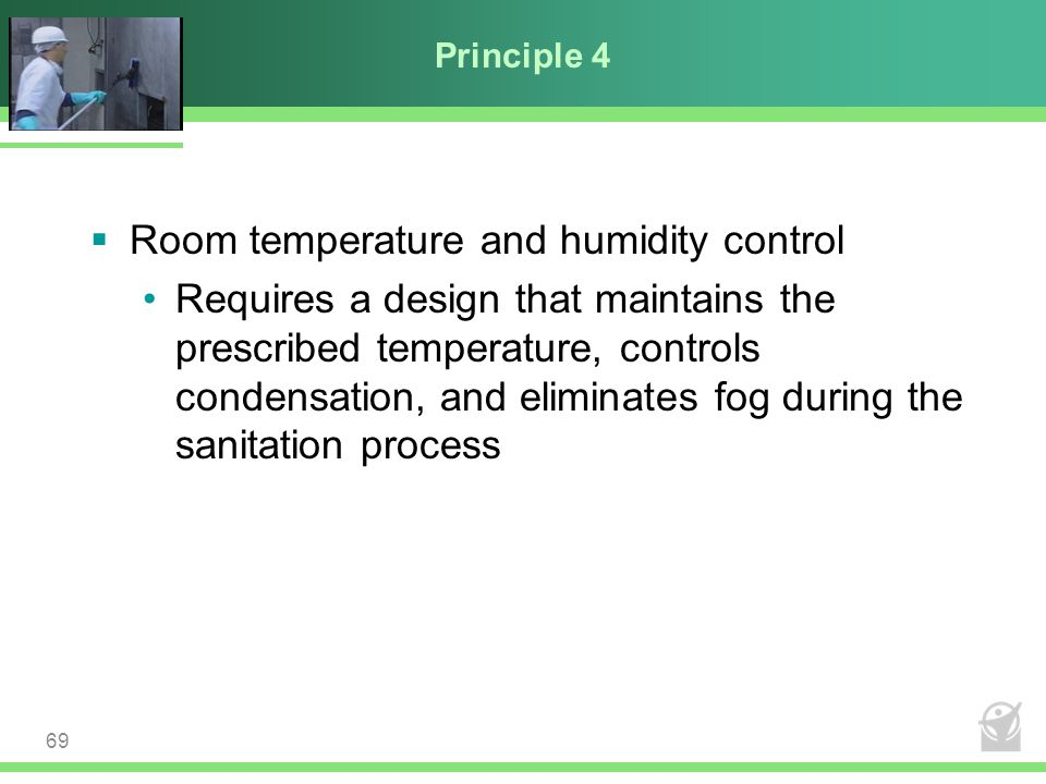 Room temperature and humidity control