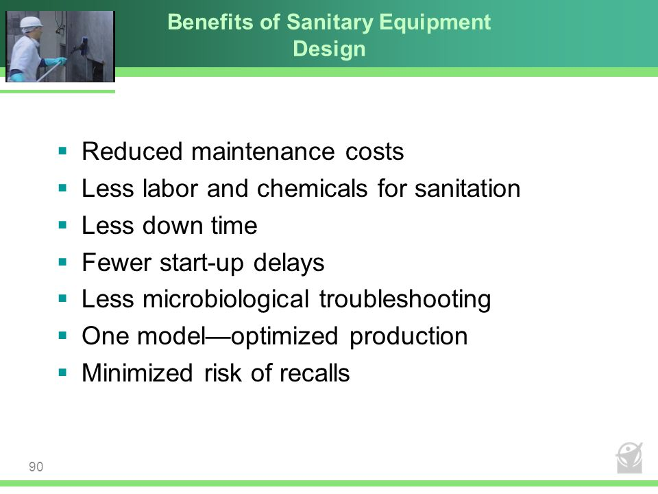 Benefits of Sanitary Equipment Design