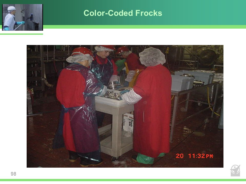 Color-Coded Frocks 98