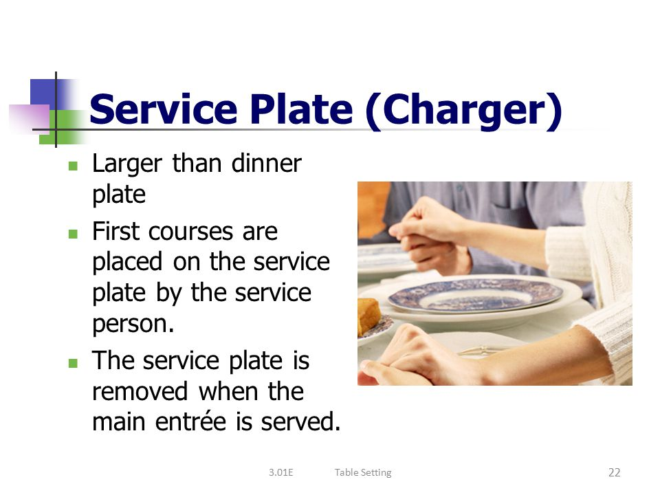 Service Plate (Charger)