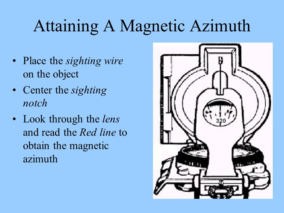 Attaining A Magnetic Azimuth