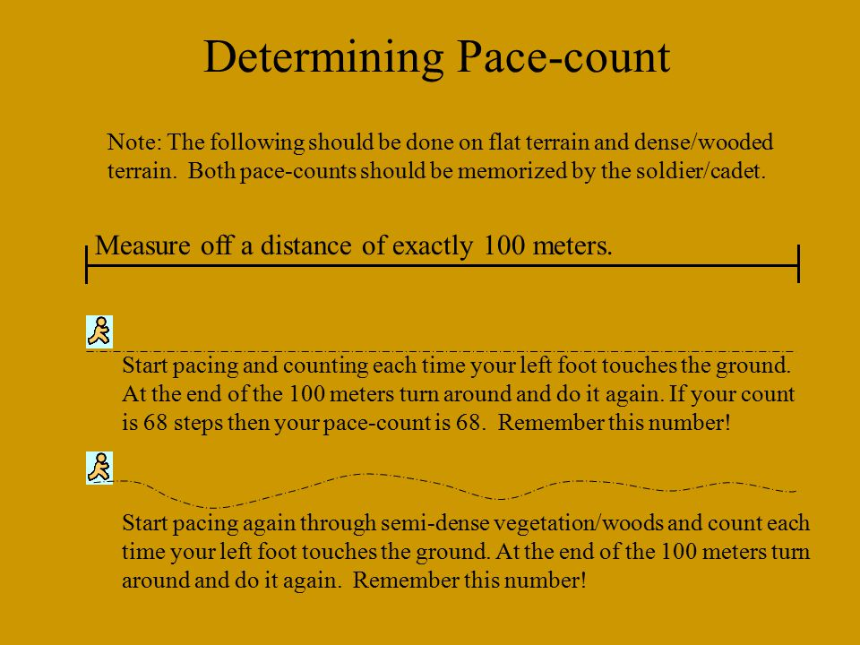 Determining Pace-count