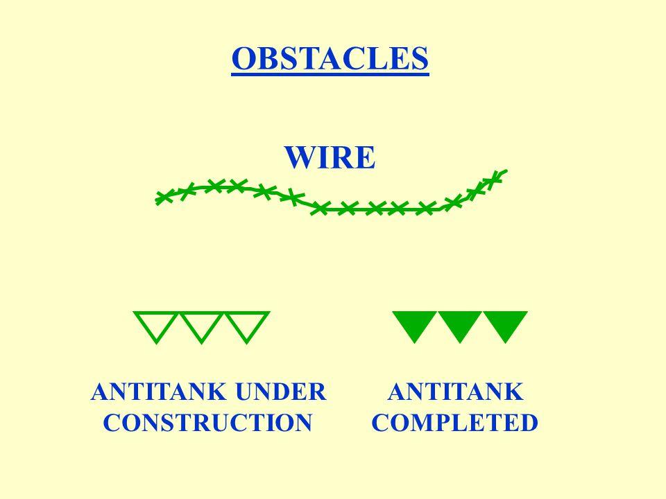 ANTITANK UNDER CONSTRUCTION