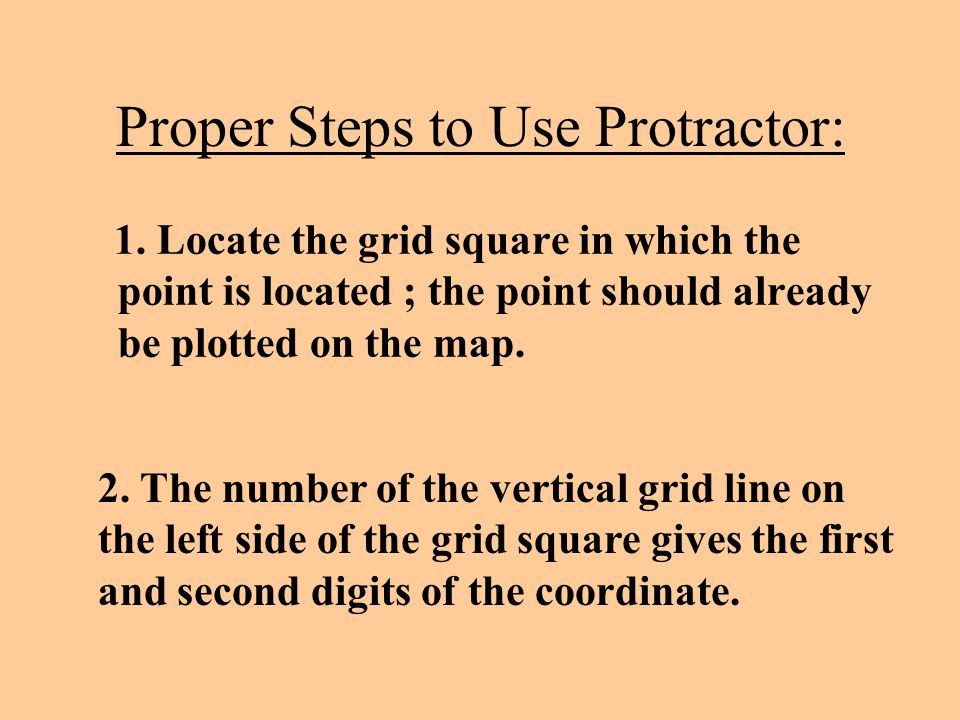Proper Steps to Use Protractor: