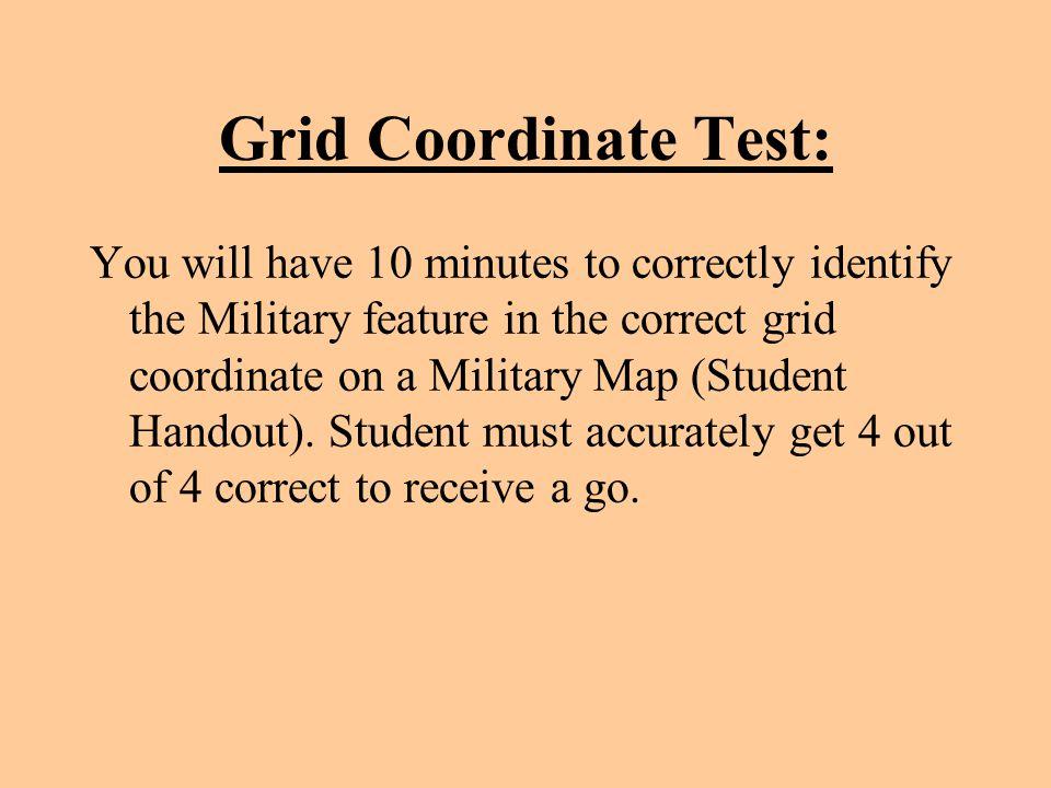 Grid Coordinate Test: