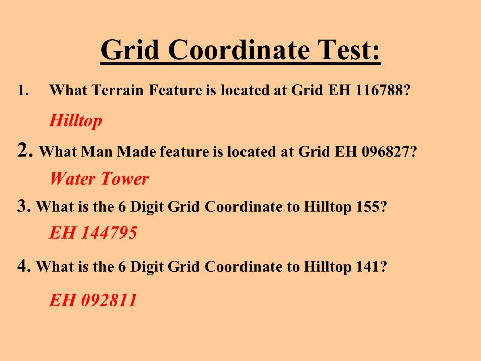 Grid Coordinate Test: EH 092811 Hilltop