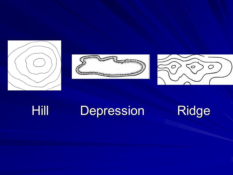 Hill Depression Ridge