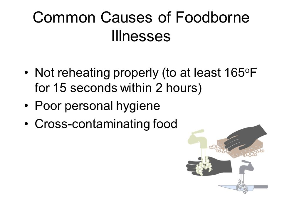 Common Causes of Foodborne Illnesses