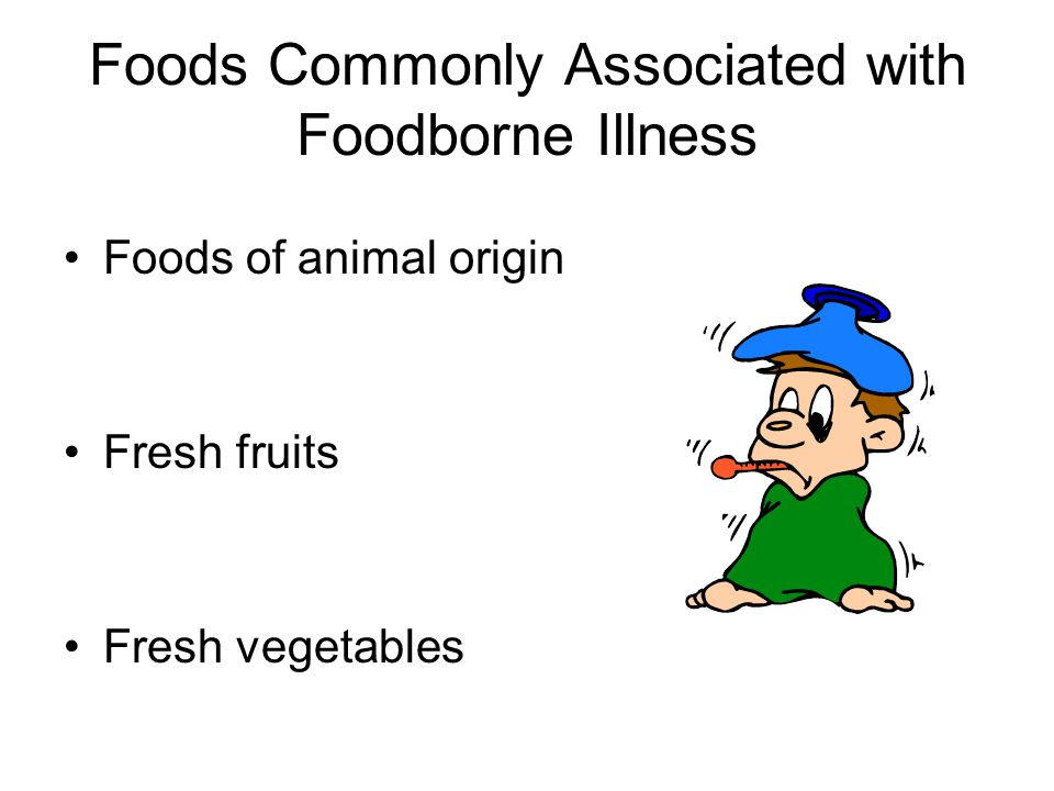 Foods Commonly Associated with Foodborne Illness
