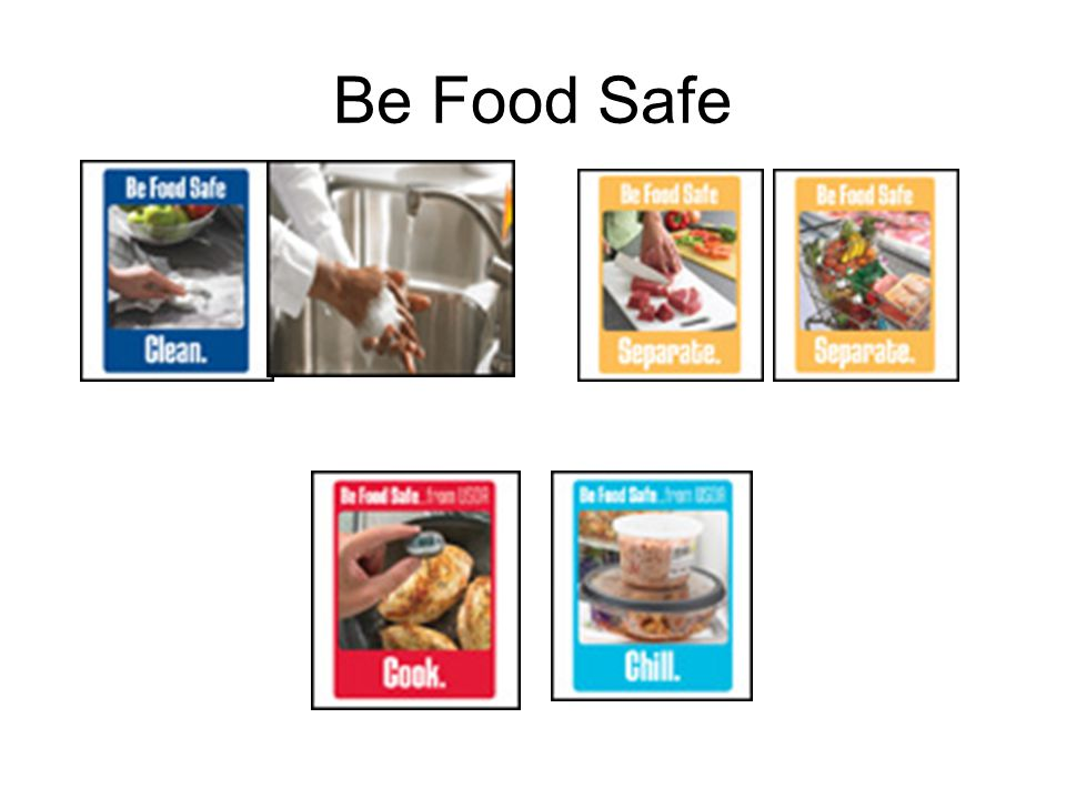 Be Food Safe