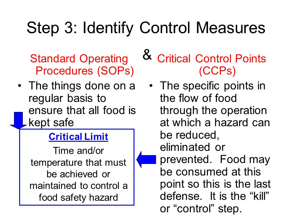 Step 3: Identify Control Measures