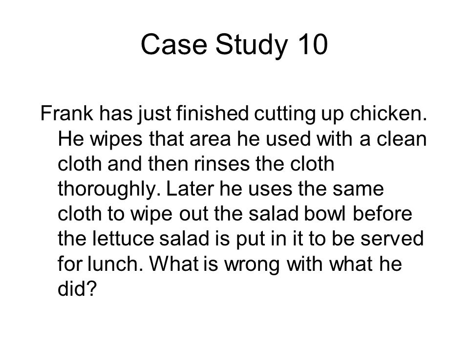 Case Study 10