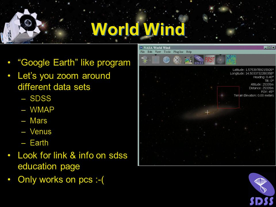 World Wind Google Earth like program