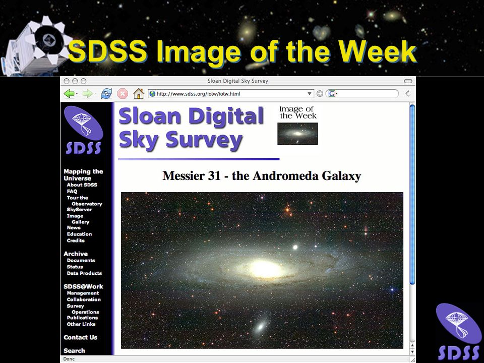 SDSS Image of the Week
