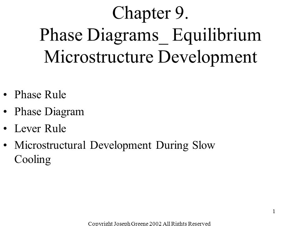 Chapter 9. Phase Diagrams_ Equilibrium Microstructure Development