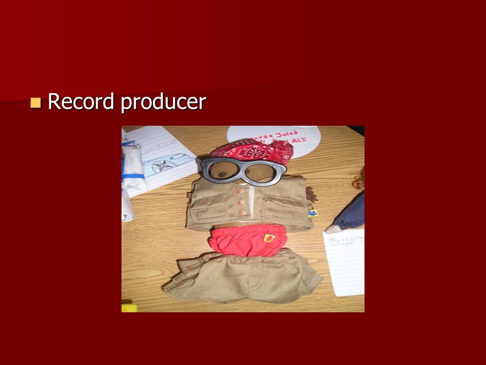Record producer