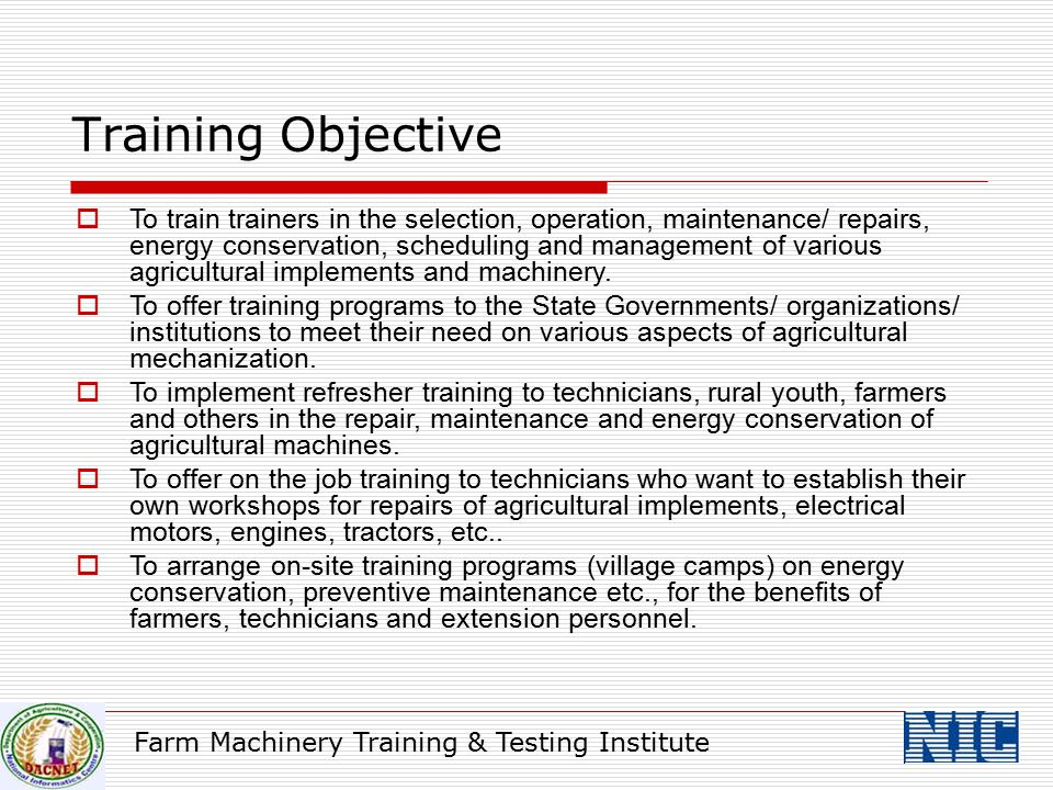 Training Objective