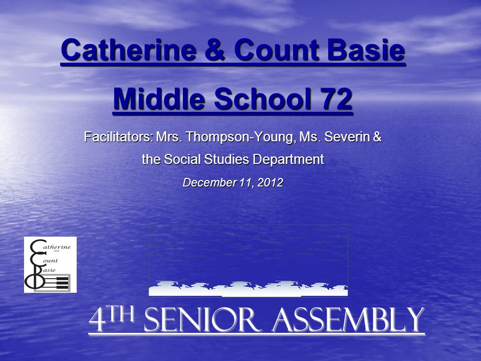 Catherine & Count Basie Middle School 72