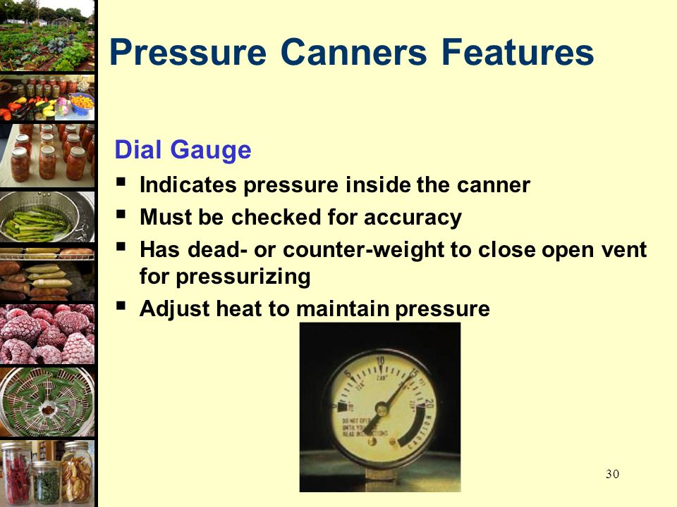 Pressure Canners Features