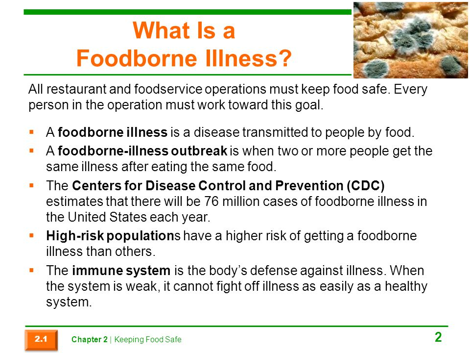 What Is a Foodborne Illness