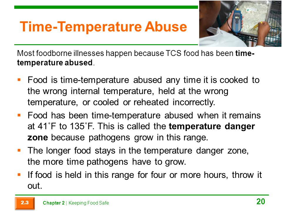 Time-Temperature Abuse