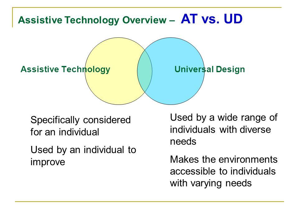 Assistive Technology Universal Design
