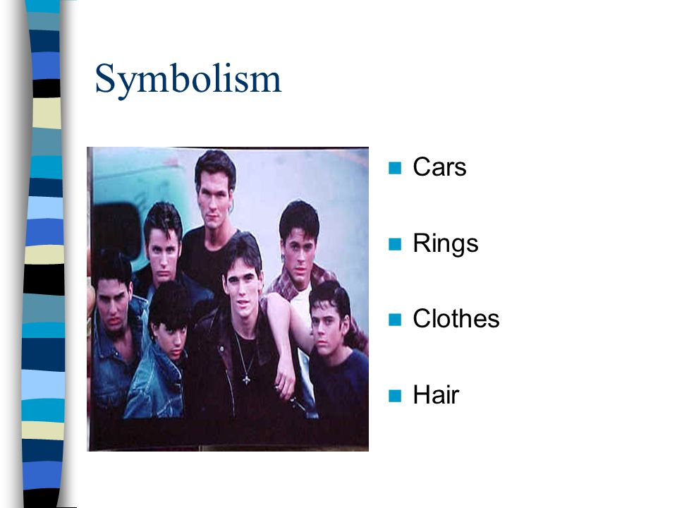Symbolism Cars Rings Clothes Hair
