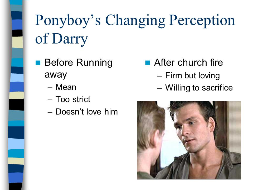 Ponyboy's Changing Perception of Darry