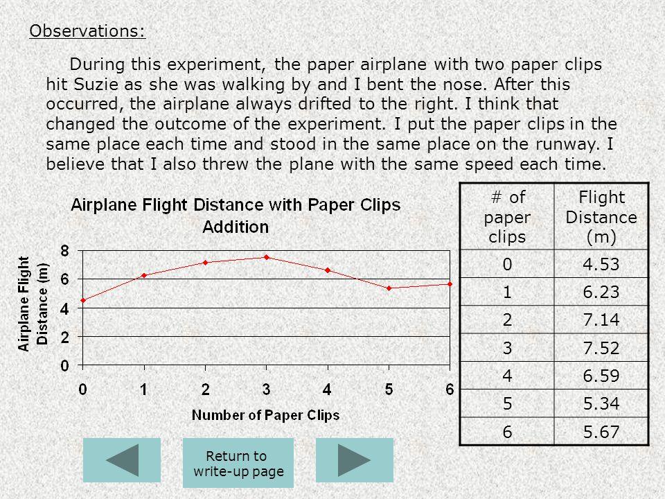 Time flight essay