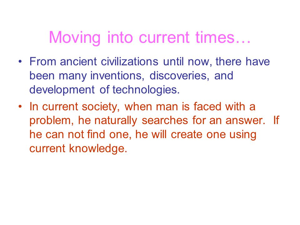 Moving into current times…