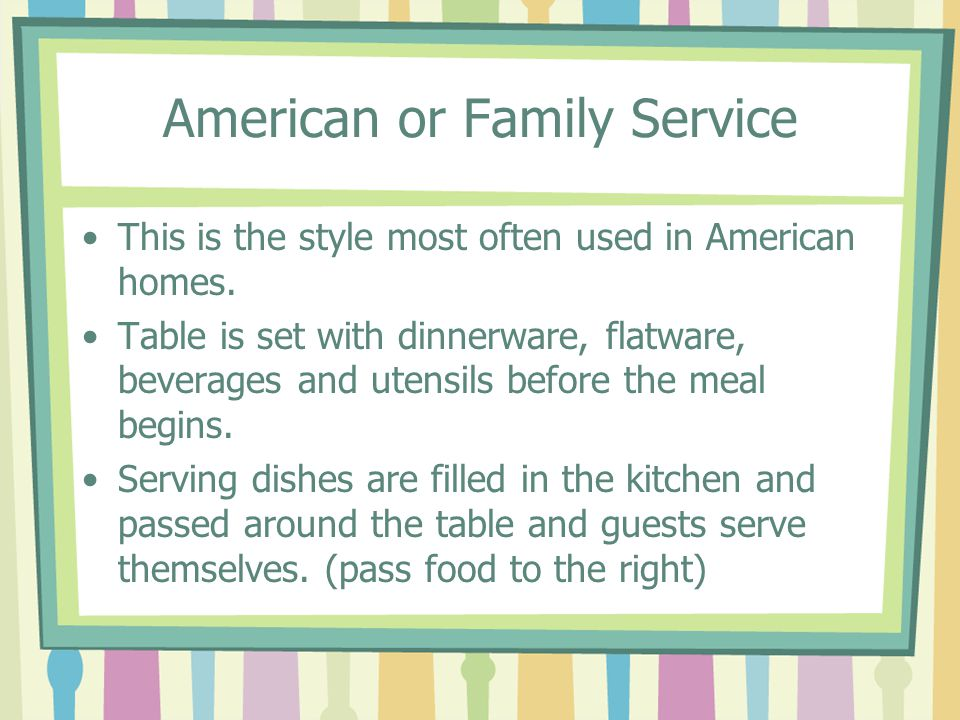 American or Family Service