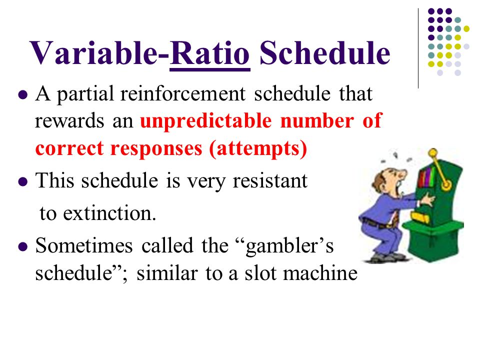 Variable-Ratio Schedule