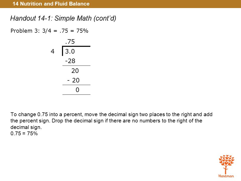 Handout 14-1: Simple Math (cont'd)