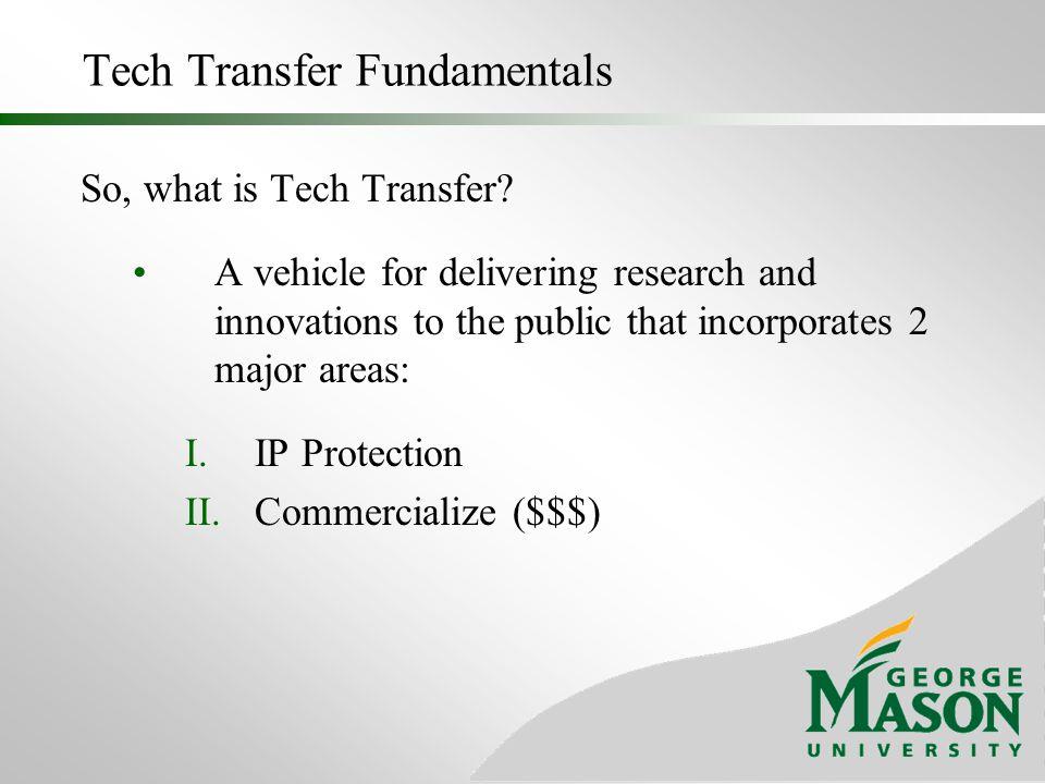 Tech Transfer Fundamentals