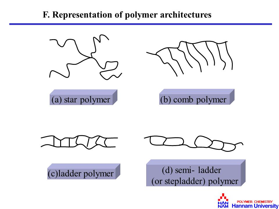 (or stepladder) polymer
