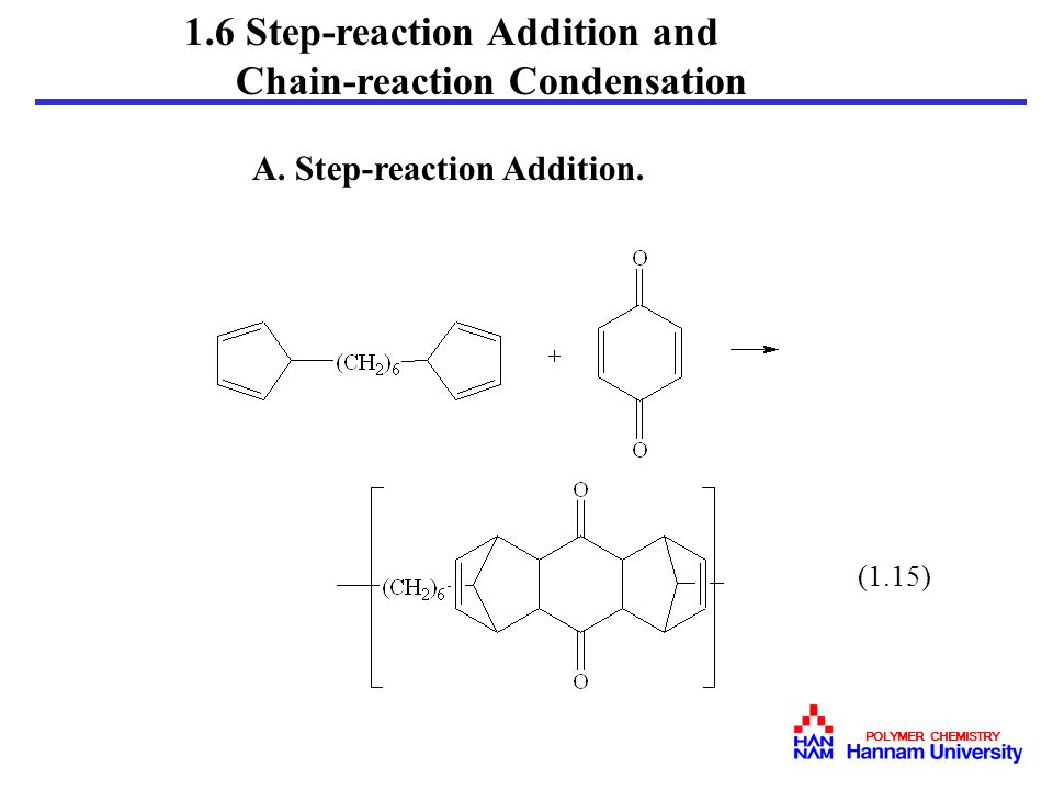1.6 Step-reaction Addition and A. Step-reaction Addition.