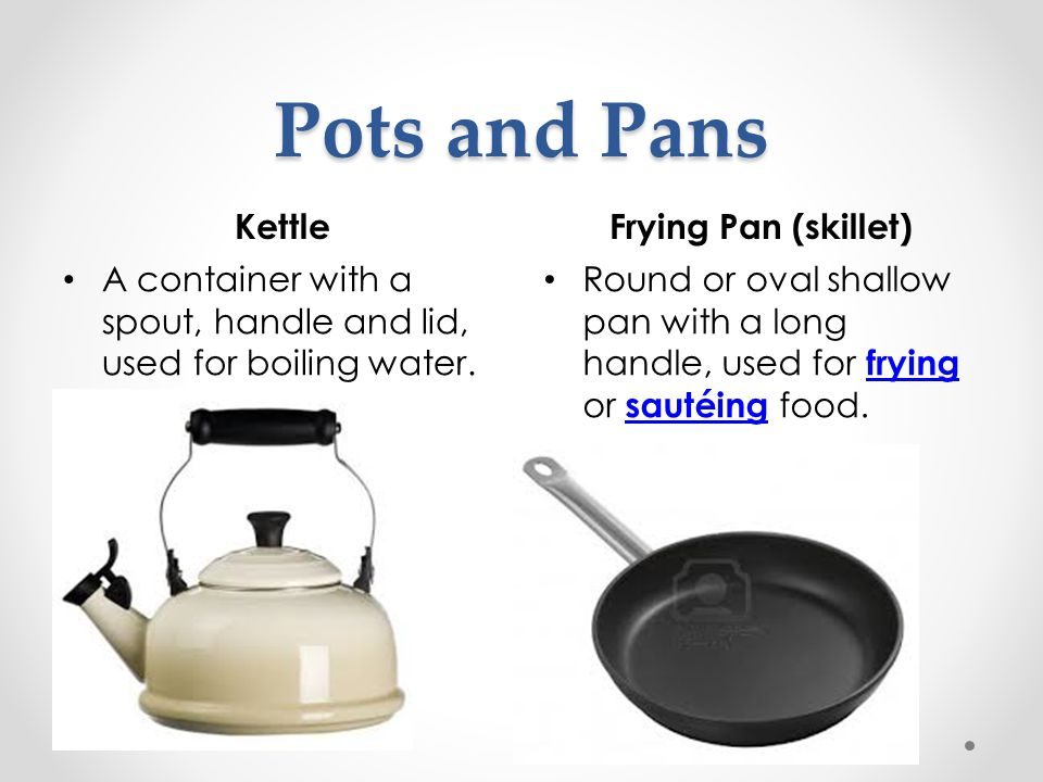 Pots and Pans Kettle Frying Pan (skillet)