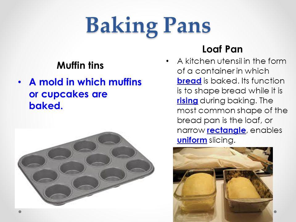 Baking Pans Loaf Pan Muffin tins