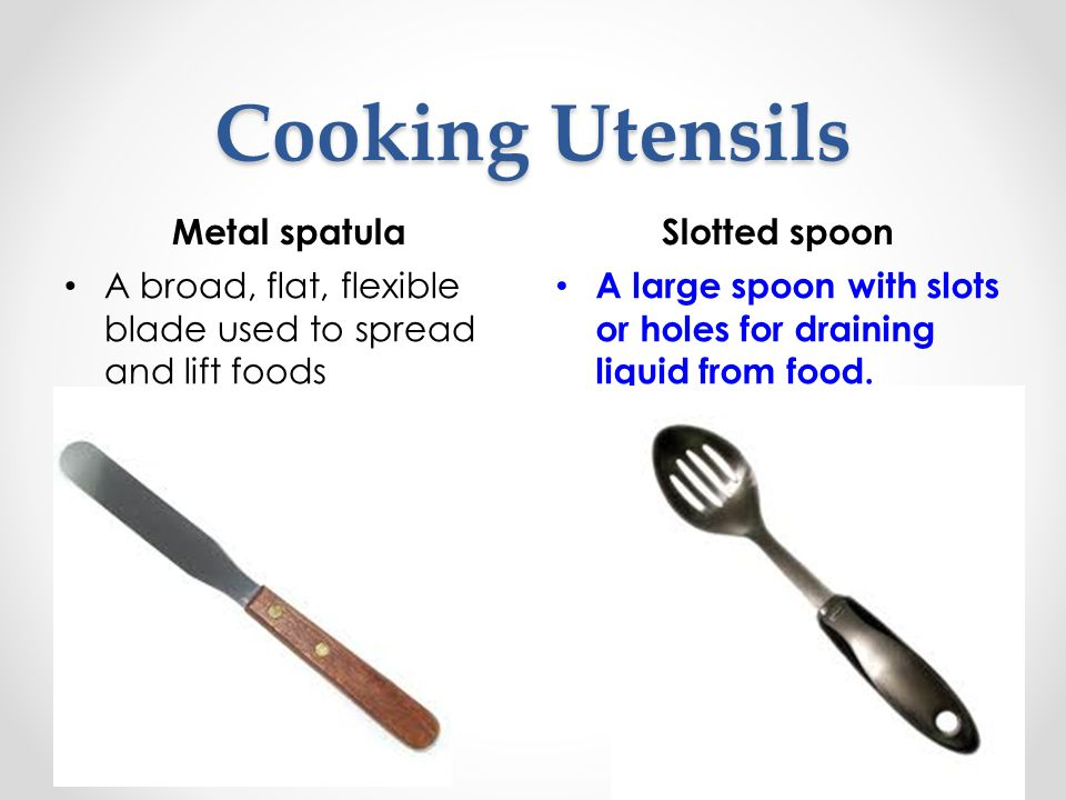 Cooking Utensils Metal spatula Slotted spoon