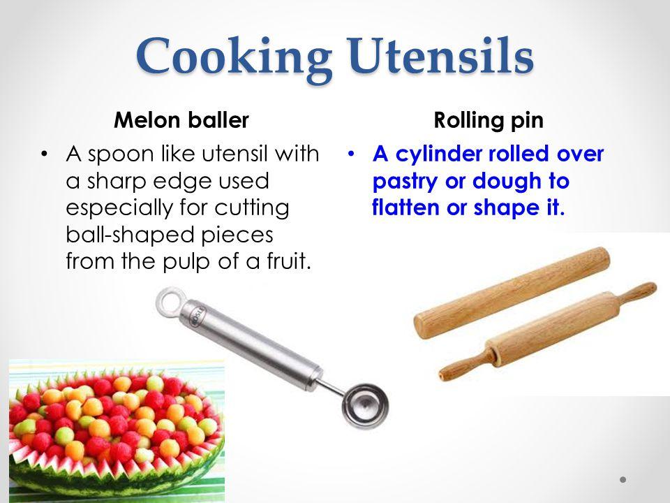 Cooking Utensils Melon baller Rolling pin