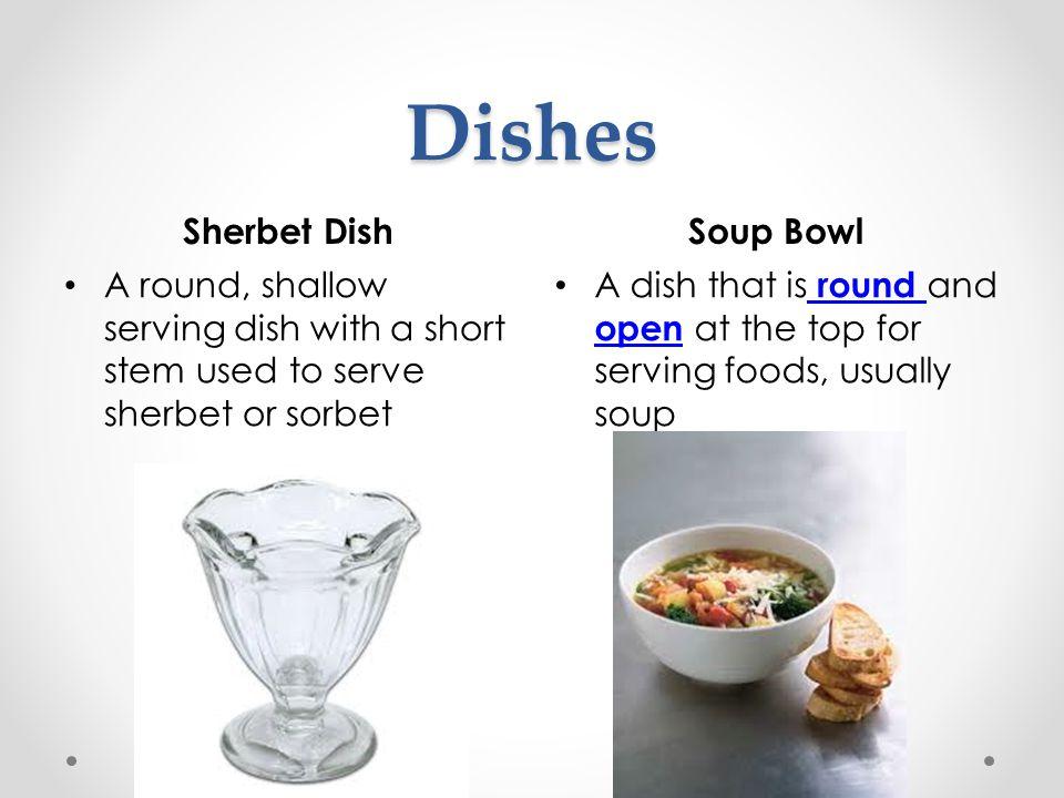 Dishes Sherbet Dish Soup Bowl