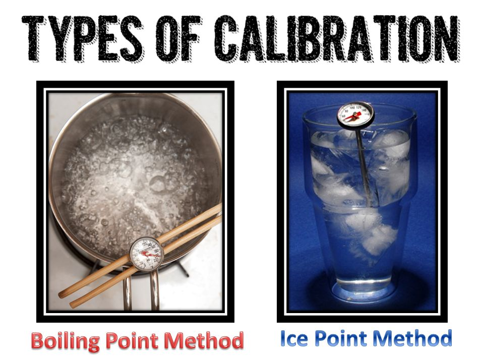 Boiling Point Method Ice Point Method