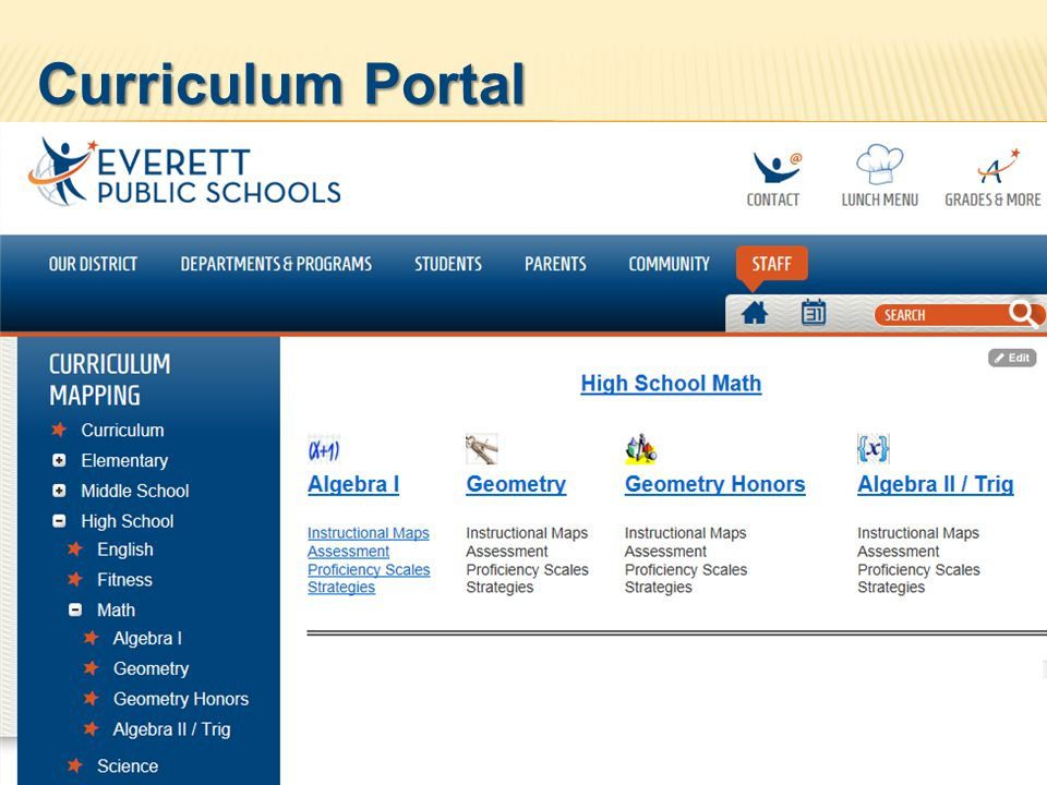 Curriculum Portal Insight Plan Now imports gradebook information