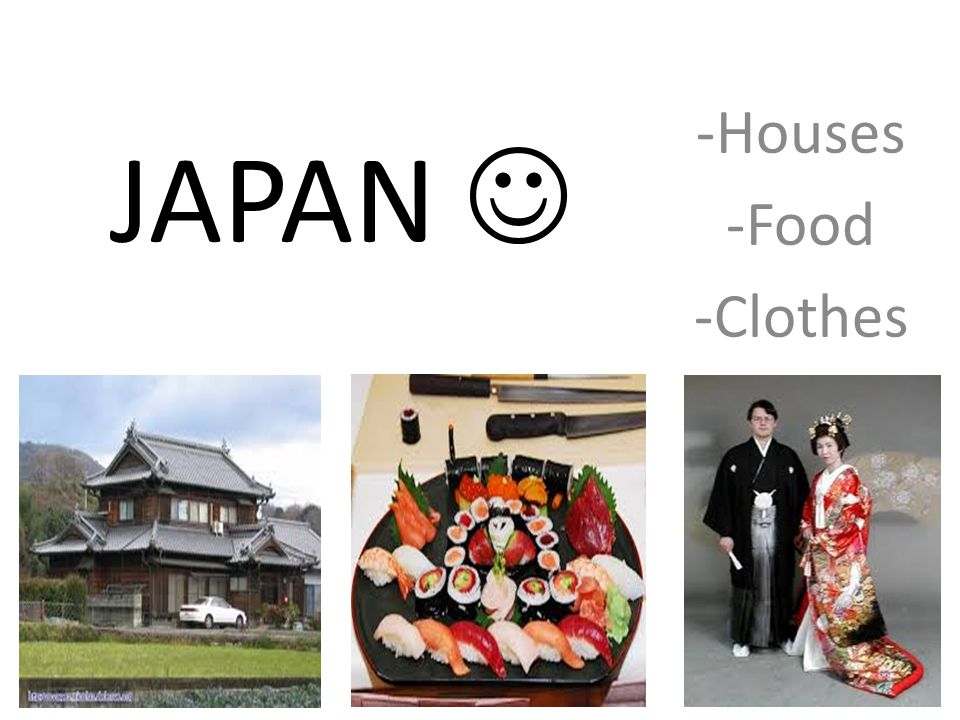 -Houses -Food -Clothes