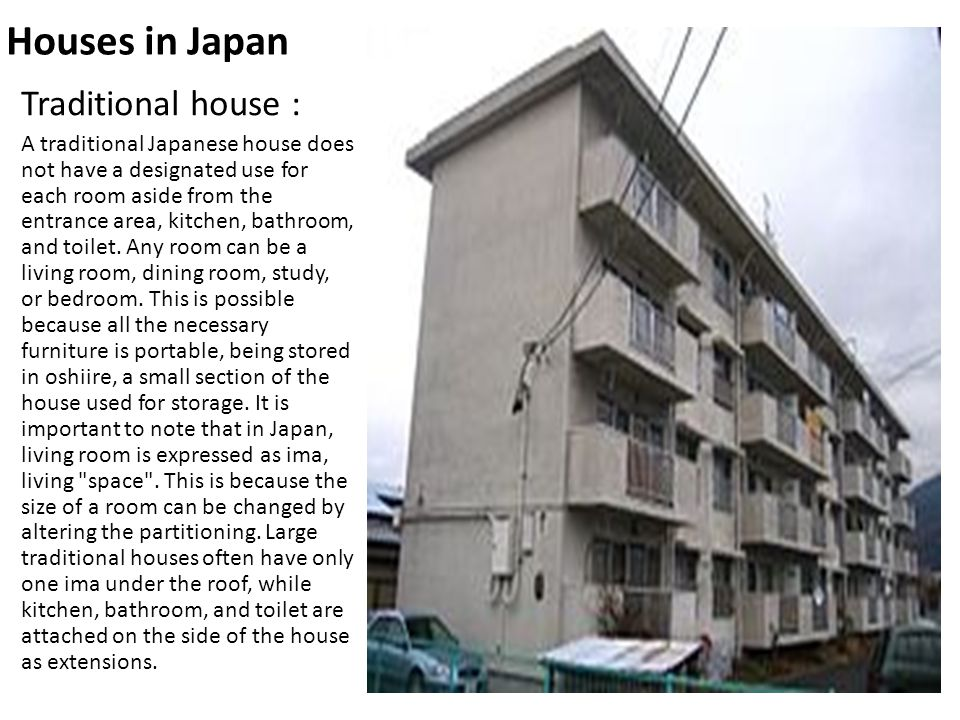 Houses In Japan Traditional House :