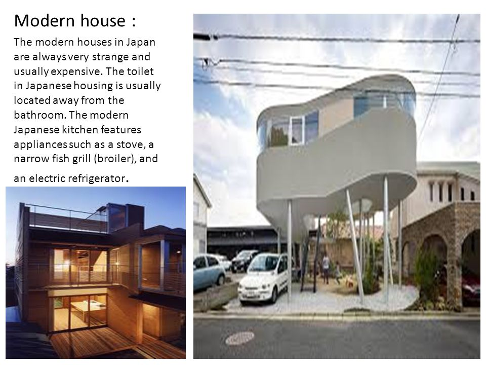 Modern house :