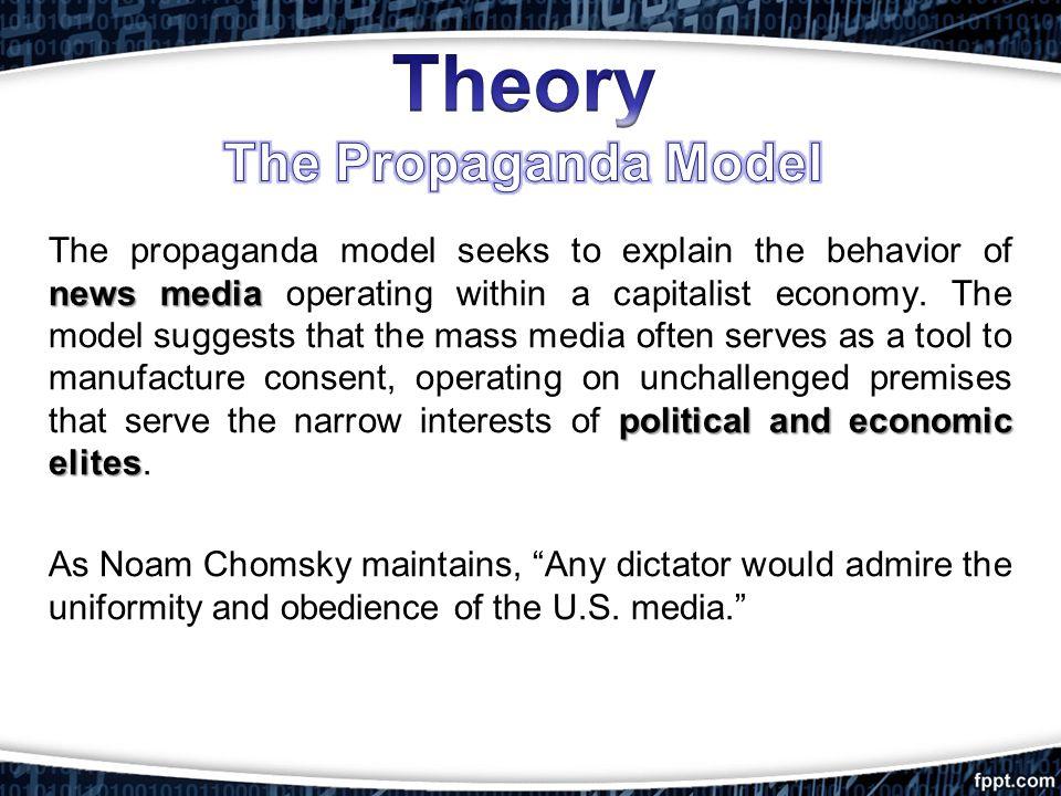 Theory The Propaganda Model