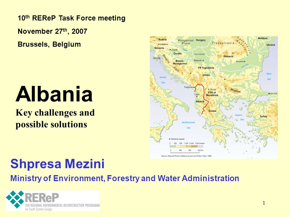 Albania Shpresa Mezini Key challenges and possible solutions